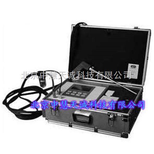 携带式燃烧效率测定仪/携带式多组份烟气分析仪