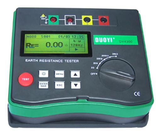 dy4300 数字式接地电阻测试仪