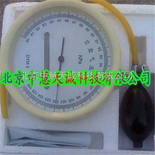 空盒气压表/气压计 型号:DYM3