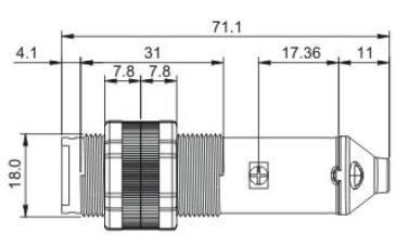 光电转速传感器/扩散反射型光电传感器