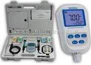 三信便携式双参数测量仪 PH/电导率计SX723