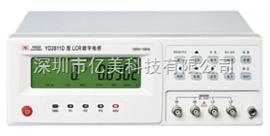 YD2811D全新常州扬子YD2811D型LCR数字电桥(100Hz-10k Hz)