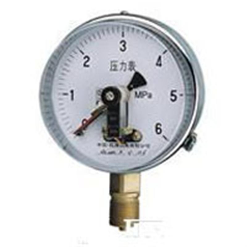 高压磁助式电接点压力表