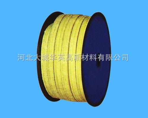 热磨机芳纶盘根,进口芳纶纤维盘根性能