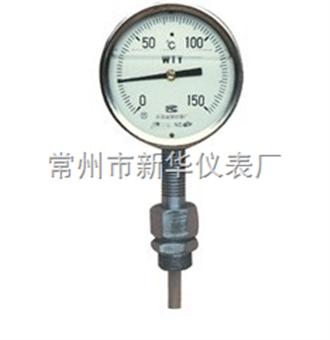 WTYZ不鏽鋼充油耐震溫度計
