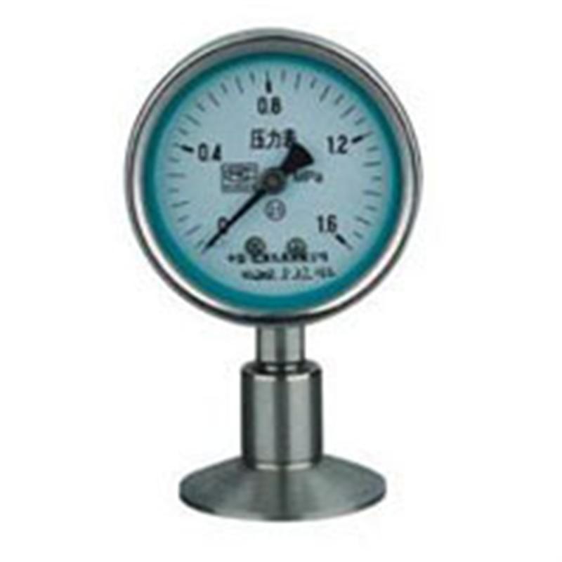 卫生型隔膜压力表Y-M上海自动化仪表四厂
