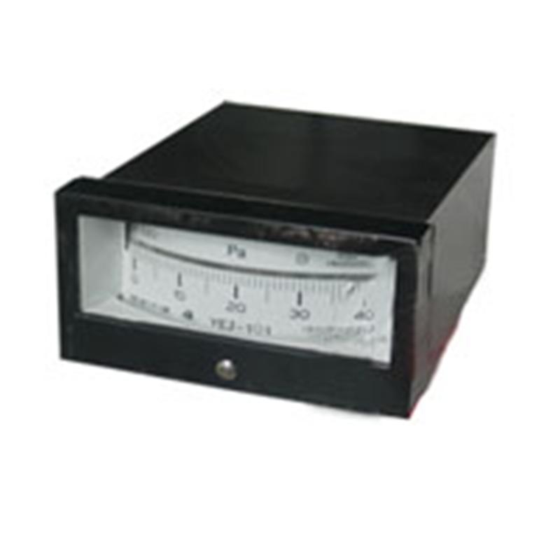 矩形膜盒压力表YEJ-101上海自动化仪表四厂