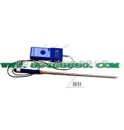 木纤维水分仪(80cm探针) 型号:ZH5016