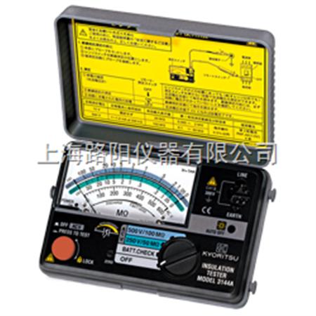 欧姆表 kew 3144a绝缘电阻测试仪/日本共立兆欧表/便携式指针兆欧表价