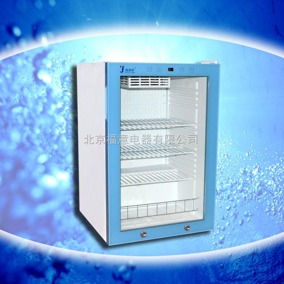 实验室冰箱 玻璃门 带锁