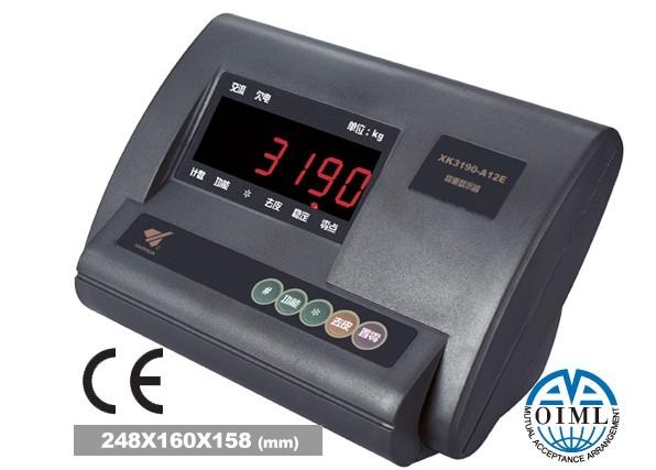 电子秤表头 > 上海耀华显示器型号:xk3190-a12e
