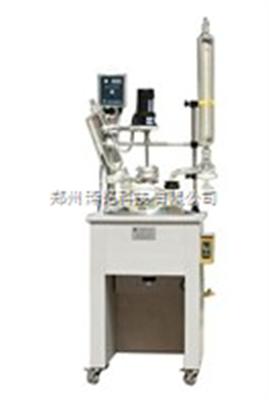 ZM-1L小型单层玻璃反应釜/合成化工单层玻璃反应釜