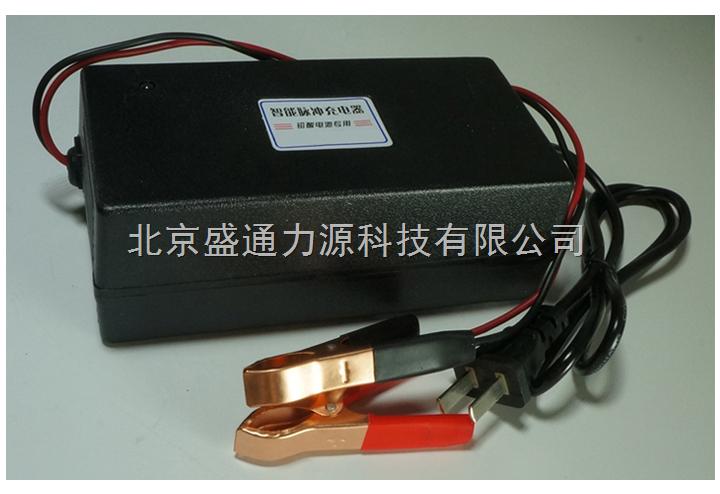 12v6a汽车充电器摩托车 高频 智能 脉冲 修复 蓄电池充电器