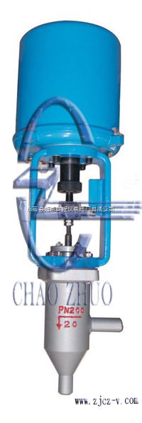 zdsjp(m)电子式精小型电动单座(套筒)调节阀 t962y电动调节阀 t961y图片