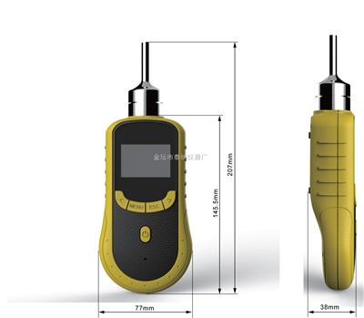 TN206-O3便携式臭氧检测仪(高精度泵吸)