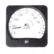廣角度高阻表13C1-MΩ由上海自一船用儀表廠專業供應