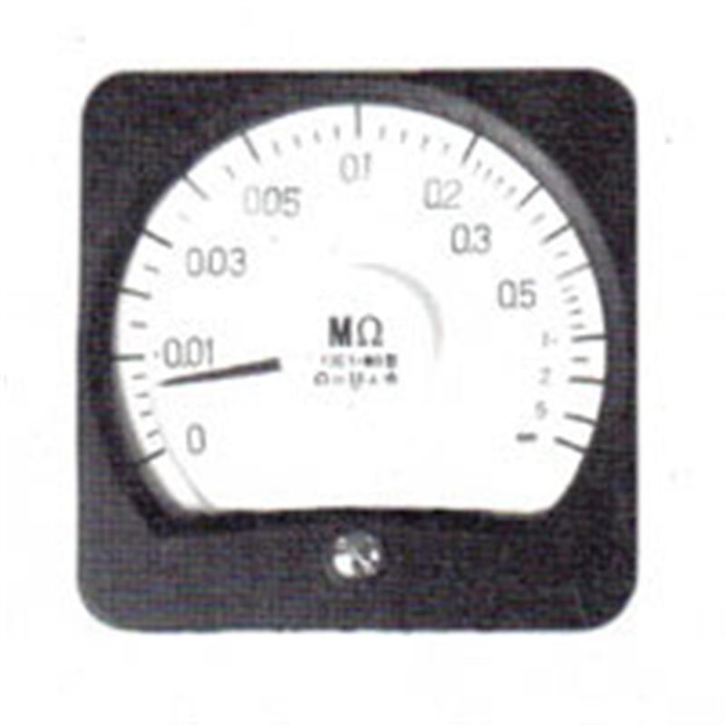 广角度高阻表13C1-MΩ由上海自一船用仪表厂专业供应