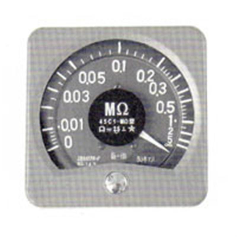 广角度高阻表45C3-MΩ由上海自一船用仪表专业供应