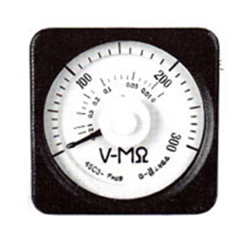广角度直流电压-兆欧表45C3-V-MΩ由上海自一船用仪表厂专业供应