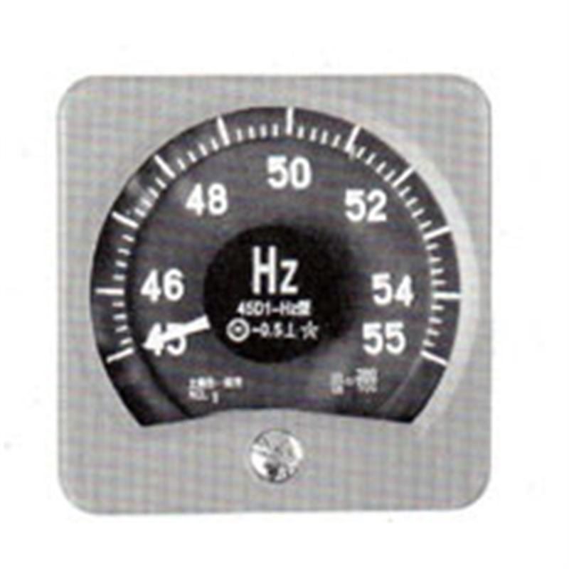 广角度频率表45D1-HZ上海自一船用仪表厂专业供应