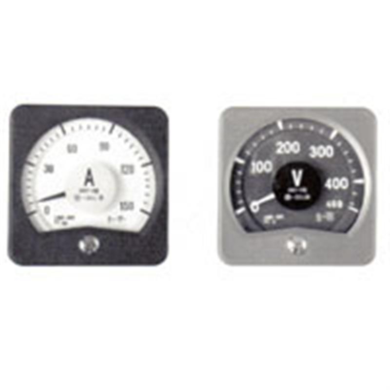 广角度交流电压表45D1-V由上海自一船用仪表厂专业供应