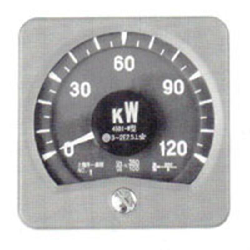 广角度功率表45D1-W由上海自一船用仪表厂专业供应