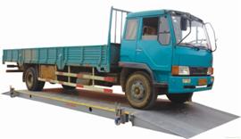 SCS120吨移动式电子汽车衡