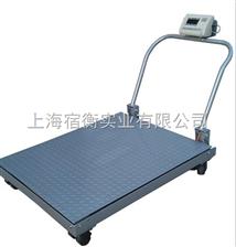 青浦3吨打印地磅,1米*1米2斜坡带滚轮电子地磅