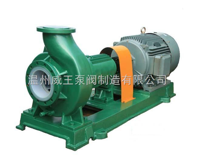 威王生产厂家IHF型衬氟塑料离心泵