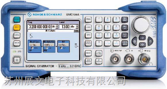 德国罗德与施瓦茨信号发生器SMC100A