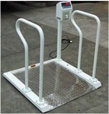 XK3101300g医院用不锈钢轮椅秤