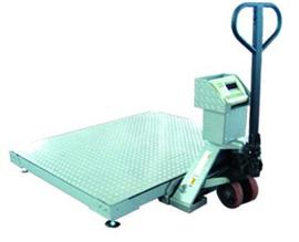 SCS0.8*0.8米叉車移動式地磅秤