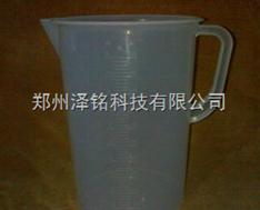 烘培实验用器皿/PP塑料量杯5000ML带柄烧杯