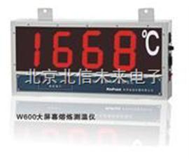 HG04-W600大屏幕熔炼测温仪 熔融金属温度测量仪   冶炼行业金属温度检测仪