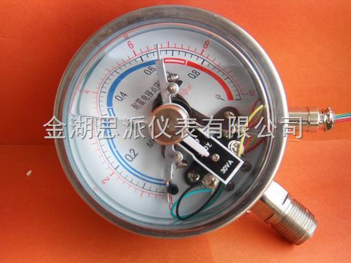 耐震电接点压力表_湖南耐震电接点压力表