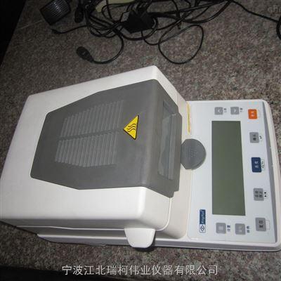 塑料颗粒卤素水分仪的操作方法