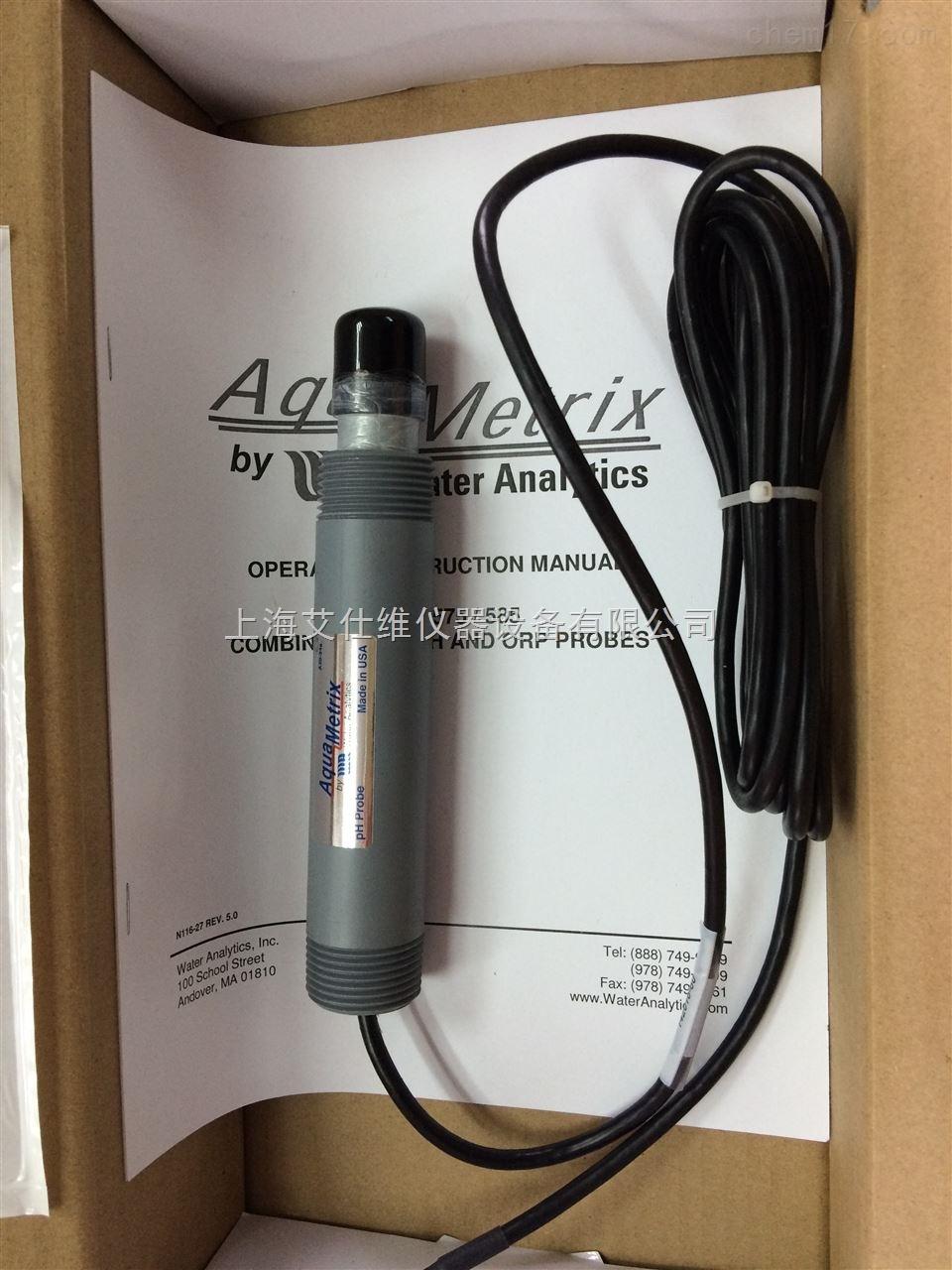 美国AquaMetrix PT1000温补PH电极