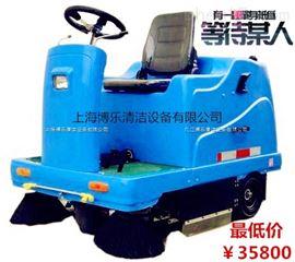 上海鬆江駕駛式掃地車