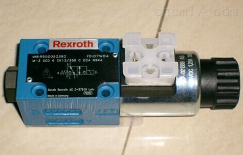 德国Rexroth力士乐电磁阀重要参数