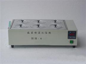 HH-6双列六孔水浴锅
