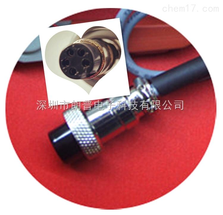 五芯头低电阻测试线 五芯开尔文测试电缆