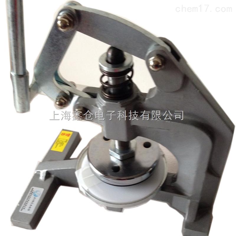 深圳面料克重仪价格裁切圆整的手压式圆盘裁布刀取样器