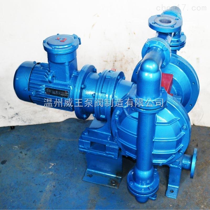 DBY型电动隔膜泵 不阻塞电动隔膜泵 防爆不锈钢隔膜泵