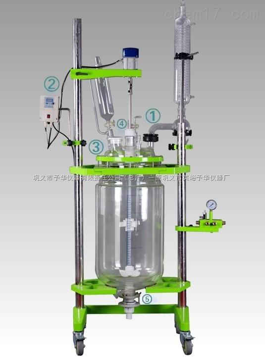 双层玻璃反应釜(YHGSF)