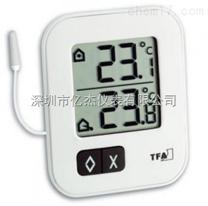 室内外多功能双显示数字温度表TFA