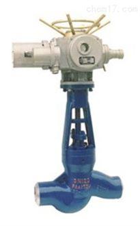 电动焊接截止阀J961Y-300