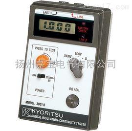 共立MODEL3001B共立MODEL3001B绝缘电阻测试仪