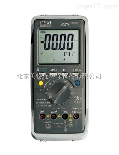 DT-9932FC专业数字万用表 汽车数字万用表