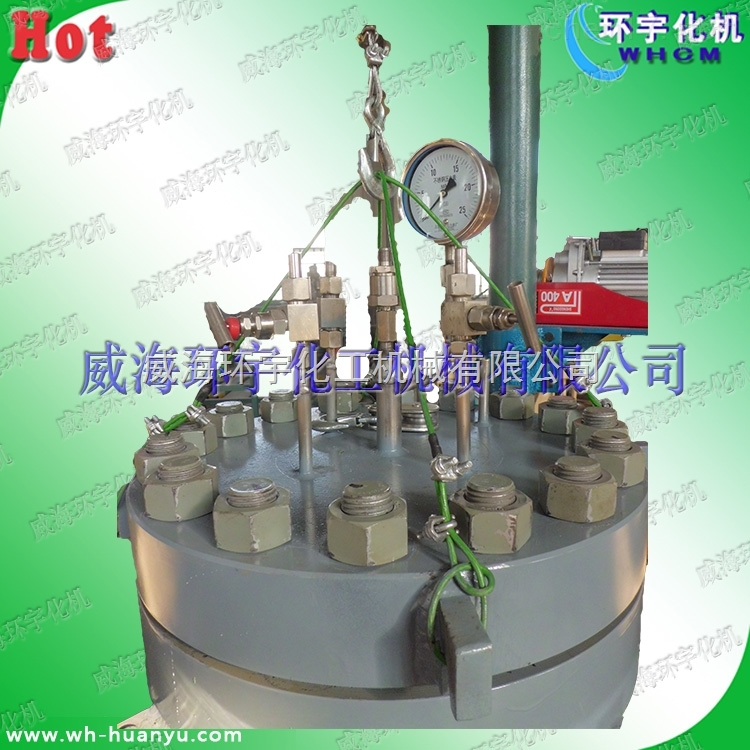 250L磁力密封不锈钢反应釜