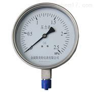 蒸汽压力表Y100/0-1.6MPA
